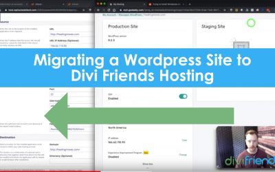 Migrate Your WordPress Website to Divi Friends with a Few Clicks in cPanel